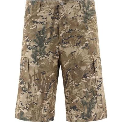 カーハート Carhartt WIP メンズ ショートパンツ バミューダ カーゴ ボトムス・パンツ Camouflage Cargo Bermuda Shorts Beige