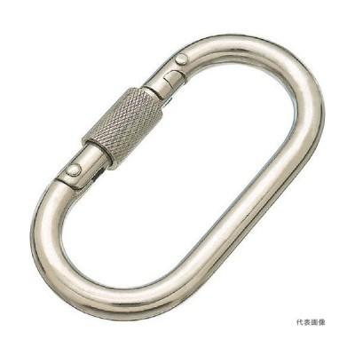 水本 ステンレス カラビナ(環付)SUS316 線径10mm長さ90mm (1個入) [B-2657] B2657             販売単位:1 送料無料