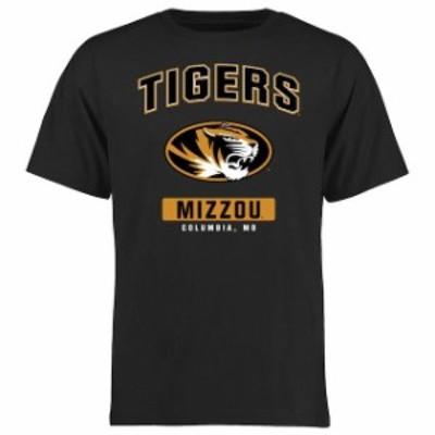 Fanatics Branded ファナティクス ブランド スポーツ用品  Missouri Tigers Black Big & Tall Campus Icon T-Shirt