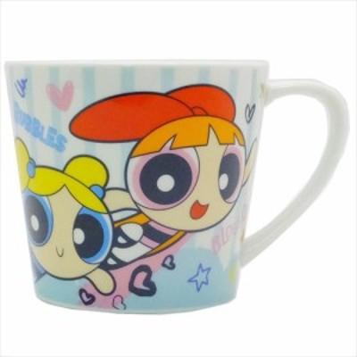 ◆パワーパフガールズ 陶器製MUG/ストライプ (アニメグッズ)プレゼント、贈り物、お土産,キャラクターグッツ通販、(427)
