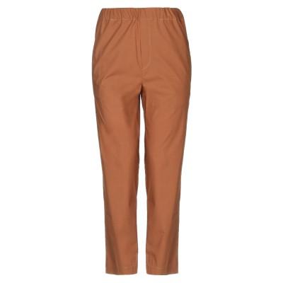 TWELVE-T パンツ ブラウン XS コットン 100% パンツ