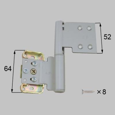MDS533A 送料込み LIXIL リクシル トステム 室内ドア 室内ドア 丁番 室内窓用丁番上用(右)MDTY43FR