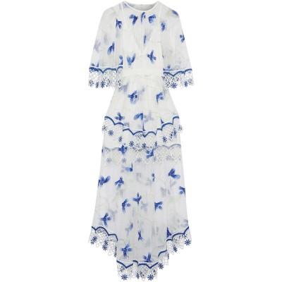アリスマッコール ALICE McCALL ロングワンピース&ドレス ホワイト 6 ポリエステル 100% ロングワンピース&ドレス