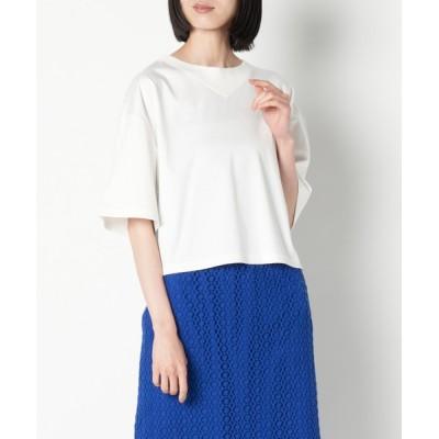GENERATION / neigh/N211-756 デザインリブショートTシャツ WOMEN トップス > その他トップス