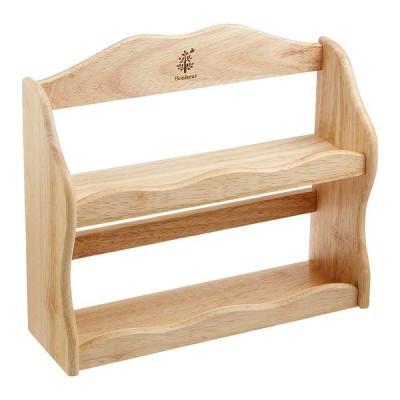 不二貿易 94383 木製スパイスラック ボヌール