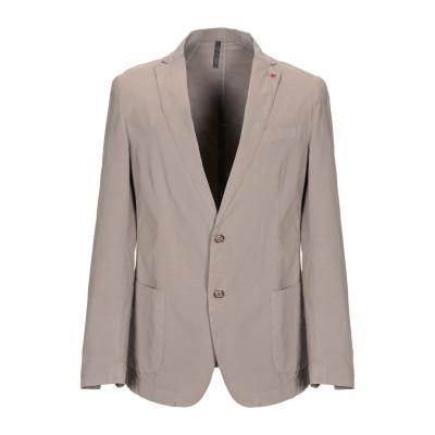LIU •JO MAN テーラードジャケット カーキ 52 97% コットン 3% ポリウレタン テーラードジャケット