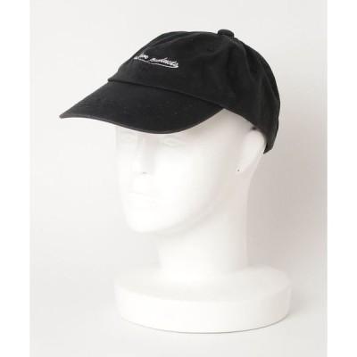 帽子 キャップ ピグメントローキャップ 刺繍