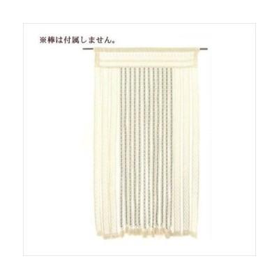ヒョウトク ナチュラルのれん ロング丈 W85×H170cm ナチュラルブラウン No.2150 (APIs)