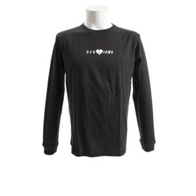Tシャツ メンズ 長袖 ハートブレイカー 187035 BLK オンライン価格