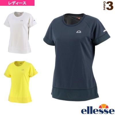 エレッセ テニス・バドミントンウェア(レディース)  メッシュラグランゲームシャツ/レディース(EW00121ZT)