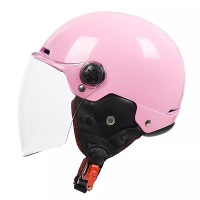 YemaMOTO-ハーフマンバイク安全ヘルメット,取り外し可能なヴィンテージダンスマスク,電動スクーター,オープンフェイス