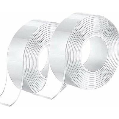 両面テープ 強力 剥がせる DIY 2個セット 長さ 3m 厚み 2mm 幅 20mm