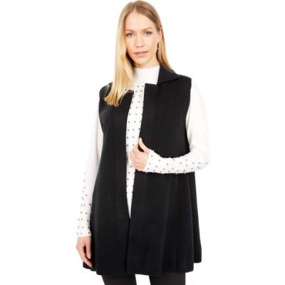 ラブトークン Love Token レディース ベスト・ジレ トップス Leah Sleeveless Vest Black