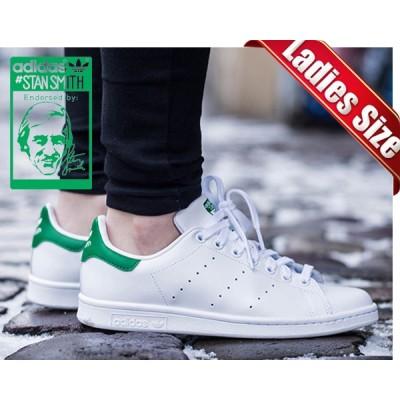 【アディダス スタンスミス メンズ・レディースサイズ スニーカー】adidas STAN SMITH wht/grn ホワイト/グリーン  STAN SMITH【白 スニーカー ウィメンズ】STAN