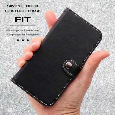 iPhone SE / 5s / 5 手帳型ケース シンプル ブラック