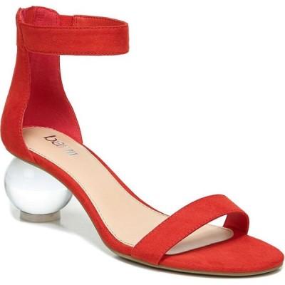 バースリー Bar III レディース サンダル・ミュール シューズ・靴 Cheryyl Ball-Heel Sandals Red Micro