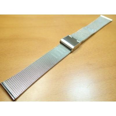 18mm時計バンド(腕時計)ベルト18ミリ ステンレススチール ブレスレット メタル バンド ベルト 時計ベルト・バンド バネ棒 サービス付き 18mm  時計ベルト