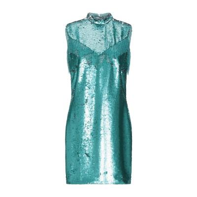 VIVETTA ミニワンピース&ドレス グリーン 38 ポリエステル 100% ミニワンピース&ドレス