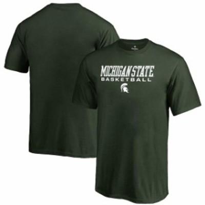 Fanatics Branded ファナティクス ブランド スポーツ用品  Fanatics Branded Michigan State Spartans Youth Green True Sport Basketbal