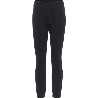 ヴェトモン Vetements レディース スウェット・ジャージ ボトムス・パンツ Cotton-blend sweatpants Black