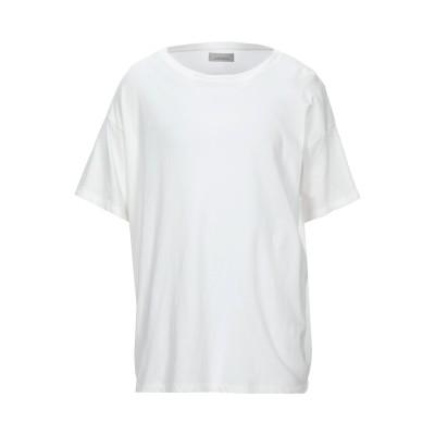 ラネウス LANEUS T シャツ ホワイト XS コットン 96% / ナイロン 4% T シャツ