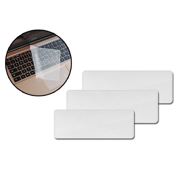鍵盤膜 平面鍵盤保護膜 12-17吋 透明鍵盤膜 防塵防水防汙 通用電腦鍵盤膜 矽膠套