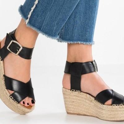 アロハズ レディース サンダル KAILUA - High heeled sandals - black