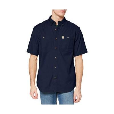 Carhartt メンズ Rugged Flex Rigby 半袖ワークシャツ US サイズ: Large カラー: ブルー