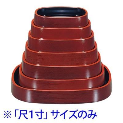 (業務用・楕円)D.X小判桶溜刷毛目尺1寸(入数:5)