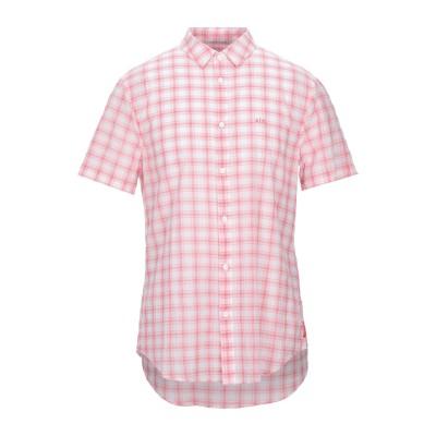 ARMANI EXCHANGE シャツ レッド M コットン 100% シャツ
