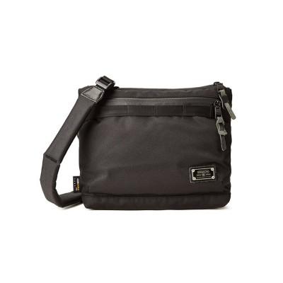 【カバンのセレクション】 アッソブ コーデュラドビー305D サコッシュ A5 AS2OV 061417 メンズ ブラック フリー Bag&Luggage SELECTION