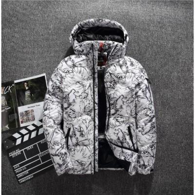 送料無料  高品質ダウンジャケット 冬 保温 かっこいい メンズダウンコート  日常   トップス 通勤通学 アウター カジュアル 防風 大人気