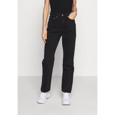 ウィークデイ デニムパンツ レディース ボトムス ROWE ECHO - Relaxed fit jeans - black