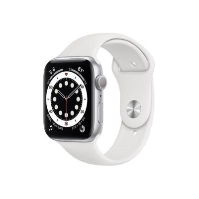 APPLE Apple Watch Series 6 GPSモデル 44mm M00D3J/A ホワイトスポーツバンド