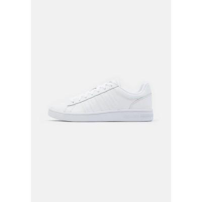 ケースイス スニーカー メンズ シューズ COURT WINSTON - Trainers - white
