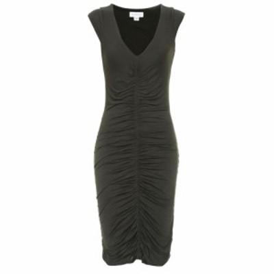 ベルベット グラハムandスペンサー Velvet レディース ワンピース ワンピース・ドレス franzi cotton-jersey dress Marsh