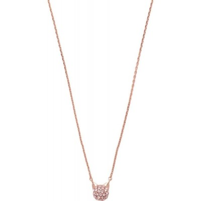 カール ラガーフェルド KARL LAGERFELD レディース ネックレス ジュエリー・アクセサリー Mini Crystal Choupette Copper