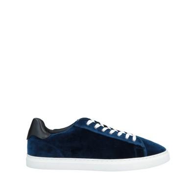 ディースクエアード DSQUARED2 スニーカー&テニスシューズ(ローカット) ブルー 39 紡績繊維 / 革 スニーカー&テニスシューズ(ローカ