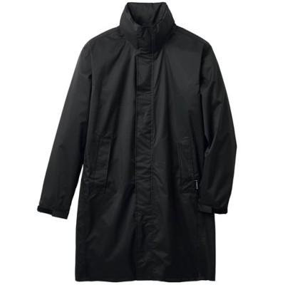防水・透湿レインコート/ブラック/3L