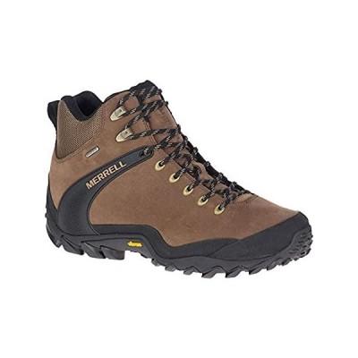 Merrell Men's J034617 Chameleon 8 Leather Mid Waterproof Hiking Shoe, Earth