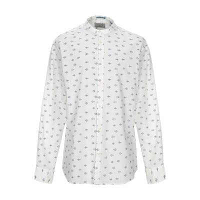 JACK & JONES ORIGINALS シャツ ホワイト XL 麻 55% / コットン 45% シャツ