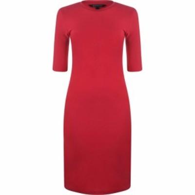 アルマーニ ARMANI EXCHANGE レディース ワンピース ワンピース・ドレス Short Sleeve Dress Red Liqu