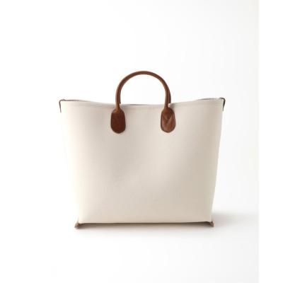 レディース フレームワーク 【Hender Scheme】bonding canvas bag M ブラウン フリー