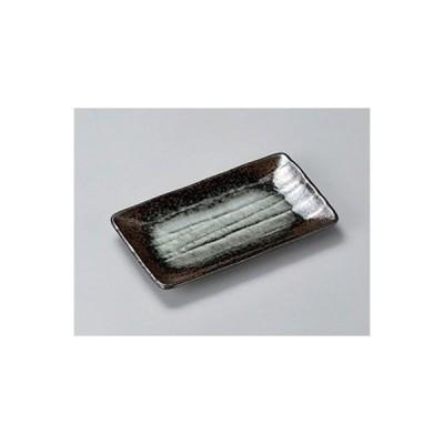 和食器 / 串皿 蒼月削ぎ串皿 寸法:18.8 x 10.8 x 2cm