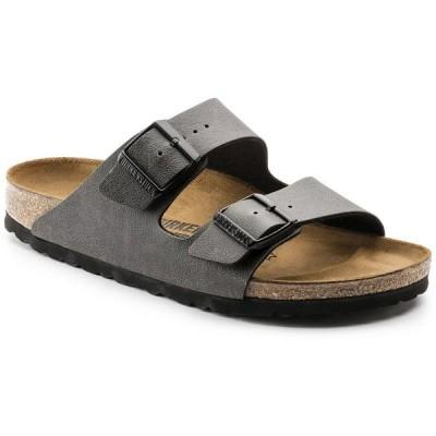 ビルケンシュトック Birkenstock メンズ サンダル シューズ・靴 Arizona Sandals Pull-Up Anthracite Birko-Flor
