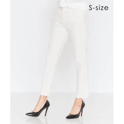 【ベイジ,】 LUIZA / パンツ レディース ホワイト 34 BEIGE,