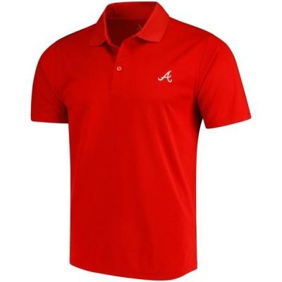 アトランタ・ブレーブス CBUK by Cutter & Buck DryTec Fairwood ポロシャツ - Red