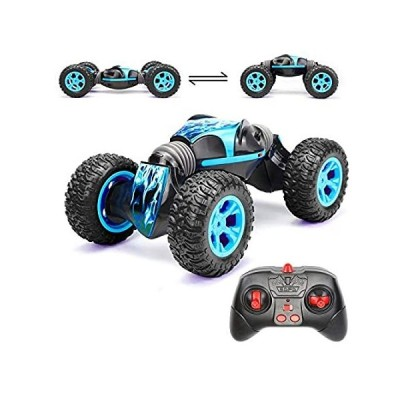 Rc Cars Toy for Boys,1:14 Remote Control Truck 4WD 2.4Ghz Stunt Car Off Roa