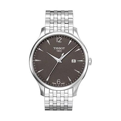 ティソ Tissot 腕時計 メンズ 時計 Tissot Men's Quartz Stainless Steel Casual Watch, Color:Silver-Toned (Model: T0636101106700)