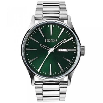 ニクソン 腕時計 メンズウォッチ Nixon The Sentry Green Dial Stainless Steel Quartz Male Watch A356-1696